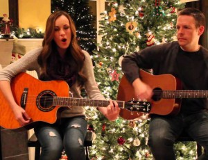 """Silent Night"" acoustic version by Sydney Leigh"