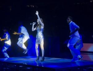 Sydney Leigh Detroit Piston's Halftime Show