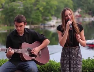 """Break Free"" Ariana Grande ft. Zedd Cover"